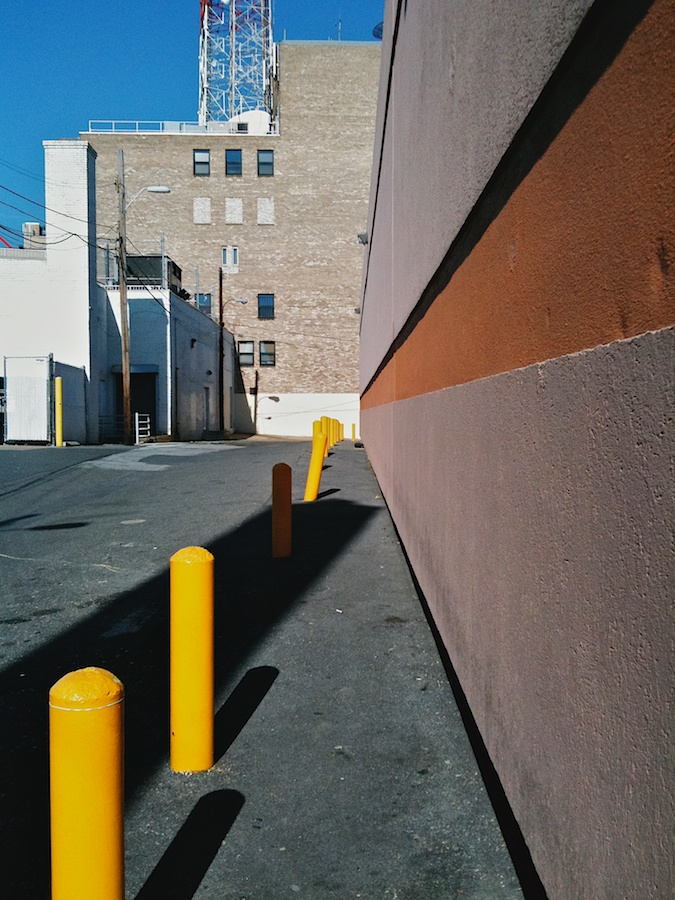 Alley perspective.