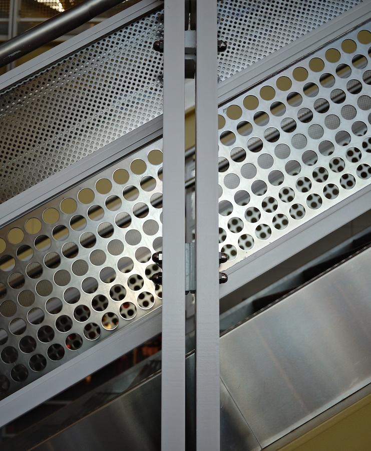 Staircase Panels, National Airport, Washington, DC