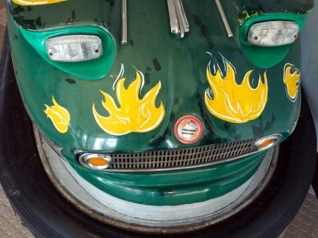 Bumper car at Glen Echo Park, MD