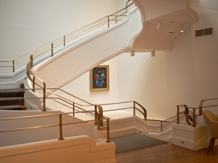 Stairway at the Phillips Collection, Washington, DC