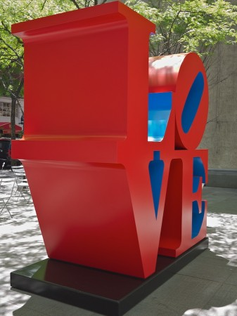 Love Sculpture, NYC