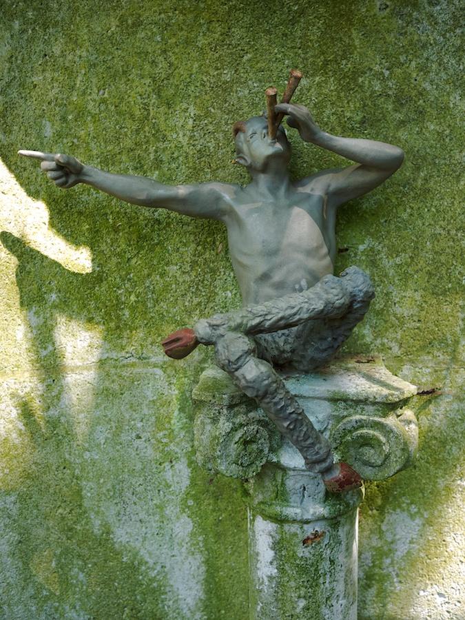 Pan Sculpture, Dumbarton Oaks, Washington, DC