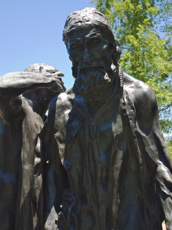 Detail, The Burghers of Calais by Rodin, Hirschhorn Sculpture Garden