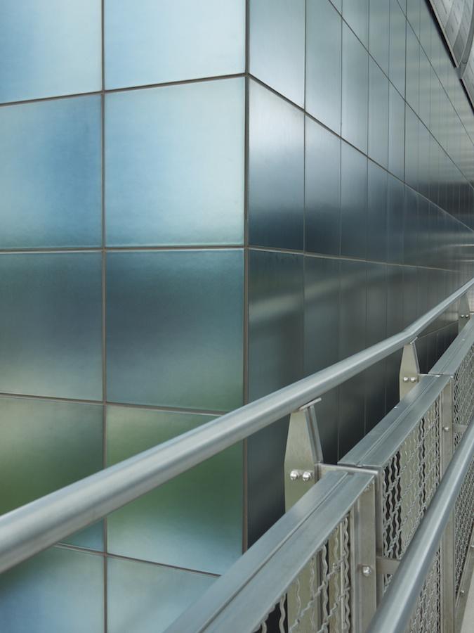 Entrance to the Udvar-Hazy Air & Space Museum