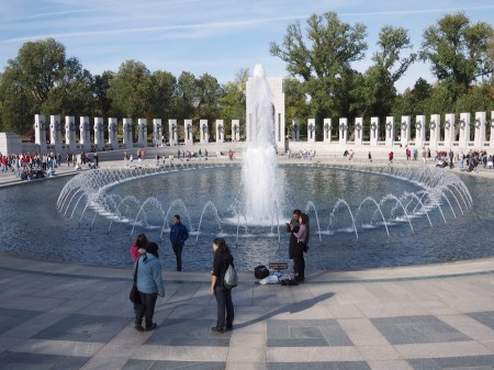 World War II Memorial on the National Mall