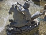 Fountain sculpture, Dumbarton Oaks, Washington, DC
