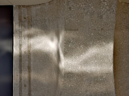 Concrete and light dazzle.
