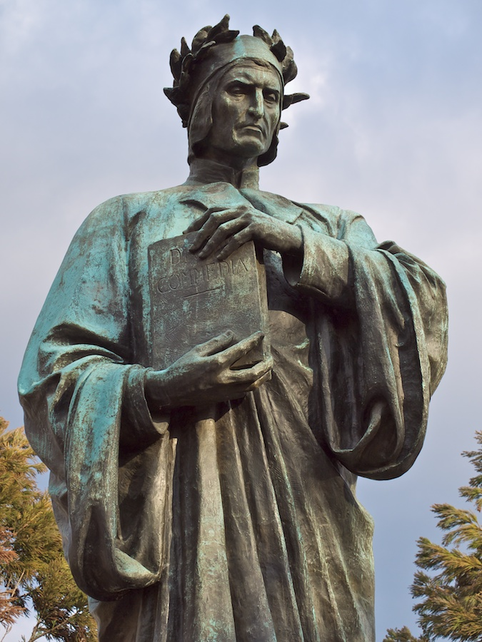 Sculpture of Dante Alighieri, Meridian Park, Washington, DC