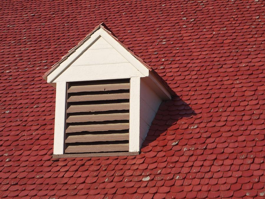 Roof at Mt. Vernon, Alexandria, VA