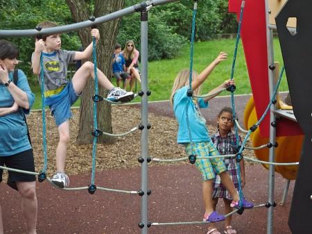 Children on the playground.