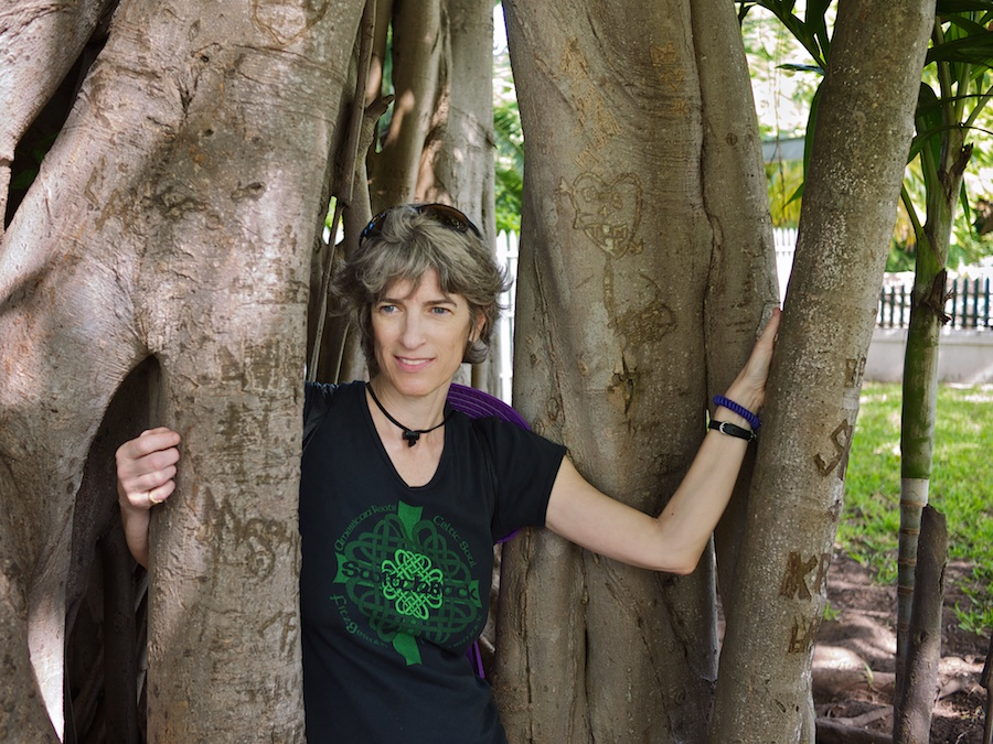 Portrait of Amy in Banyan Tree