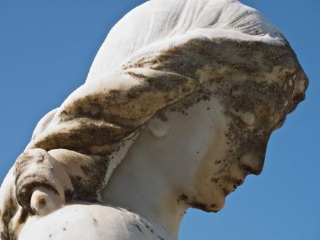 Statue, Key West Cemetery