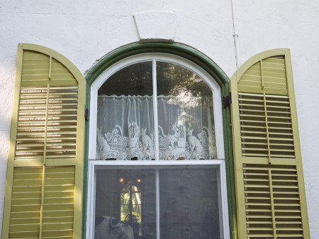 Window, Hemingway House, Key West, FL