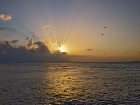 Sunset from Mallory Square, Key West