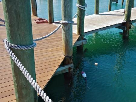Wharf at Key West, FL