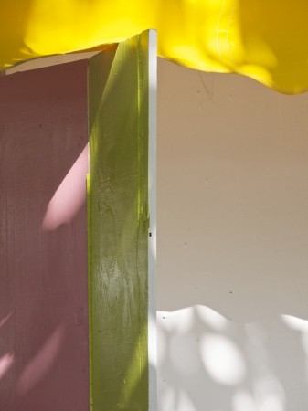 Abstract colors in light and shadow.