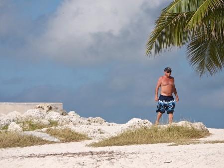 Older Man in bathing suit, Key West, FL
