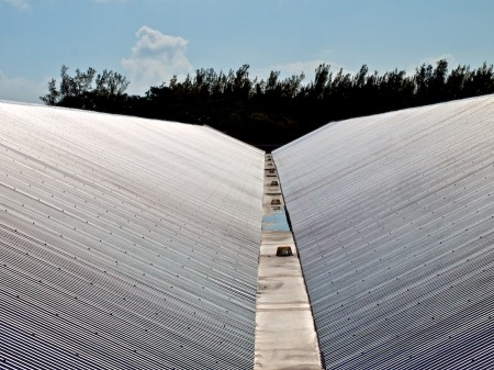 Metal roof, Fort Zachary Taylor, FL