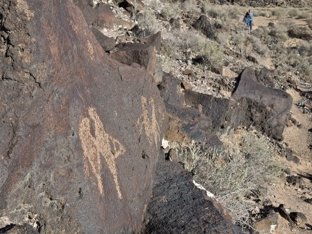 Rock Art, Petroglyph National Monument, Albuquerque, NM