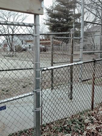 Playground fences, Arnold, MD