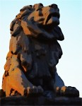 Bridge lion, Washington, DC