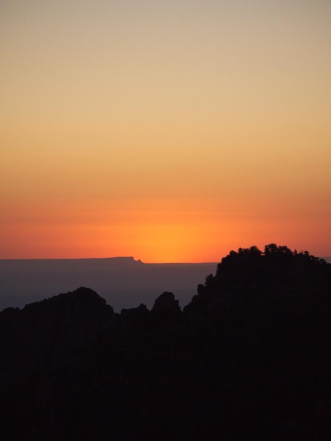Sunset seen from Sandia Peak, ABQ, NM