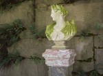Classical bust, Biltmore Estate, Asheville, NC