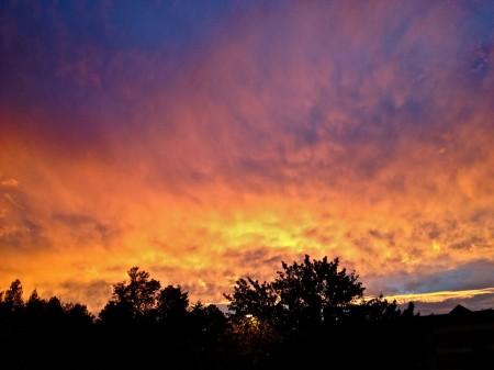 Sunset, Asheville, NC