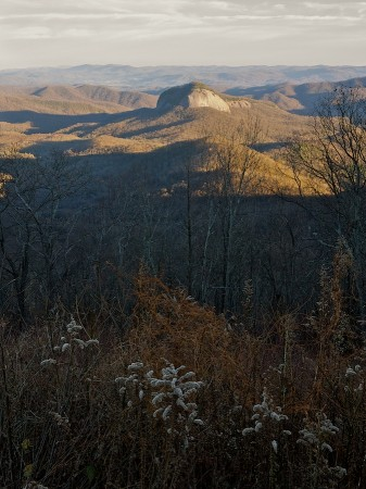 Photographed from the Blue Ridge Parkway