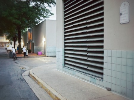 Mall alley, Shirlington, VA