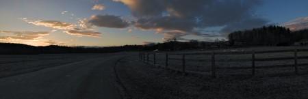 Sunset panorama, Biltmore Estate, Asheville, NC