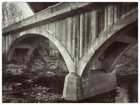 Superseded bridge, Asheville, NC