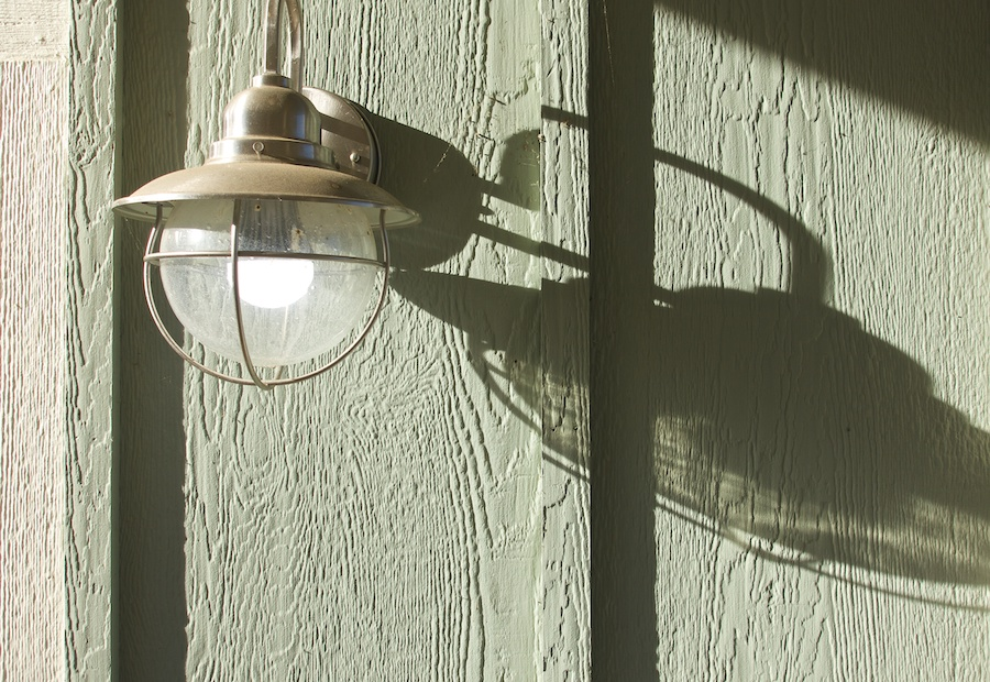 Exterior Lamp with Shadow